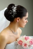 Trendiest bridal hairstyle